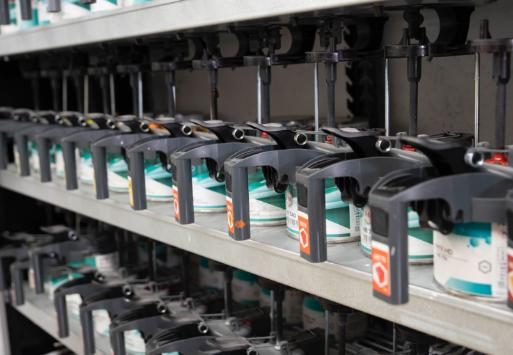 環境意識の高い欧州で使われる水性塗料R-M