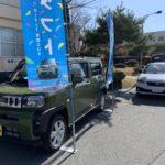 北富士駐屯地にて新車展示会