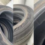 タイヤのバーストが多くなってます!